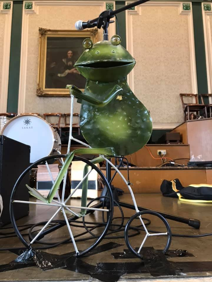 Frog on a Bike Ceilidh Band - Froggy The Younger, Todmorden Folk Festival 2019